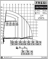 КМУ Fassi F155AС.2.24 L153