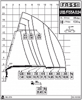 КМУ Fassi F155A.0.24 L102