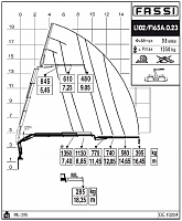 КМУ Fassi F165A.0.23 L102