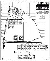 КМУ Fassi F600RA.2.26 L425